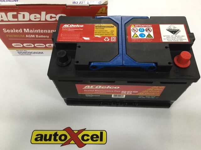 BMW X1 & 1 series start/stop battery